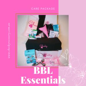 BBL Essentials Brazilian Butt Lift Post Op Essential Items Pack cheeky recovery