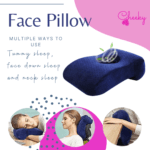 face pillow hollow cheeky recovery